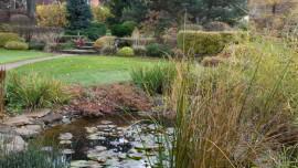 Сад семи скульптур. Осень