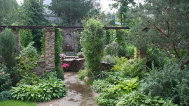 Русский сад с итальянским акцентом